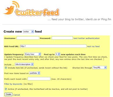 How to Automatically Add Your Blog Posts to Twitter Using Twitter Feed