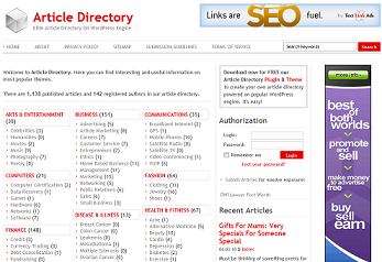 How to Turn a WordPress Blog into an Article Directory in Under 30min