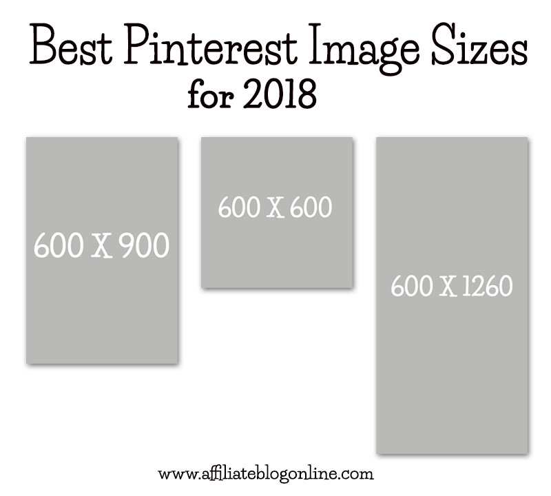 Best Pinterest Image Size for 2018