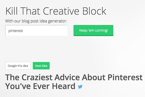 7 Awesome Tools for Generating Blog Post Ideas…for ANY NICHE!